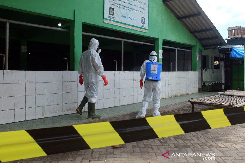 Pemkab Kulon Progo tutup Pasar Pripih antisipasi penyebaran COVID-19