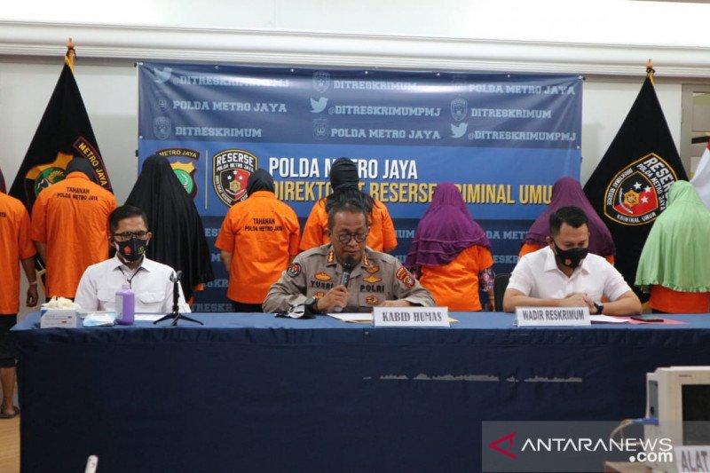 Polda Metro lakukan rekonstruksi kasus klinik aborsi di Jakarta Pusat
