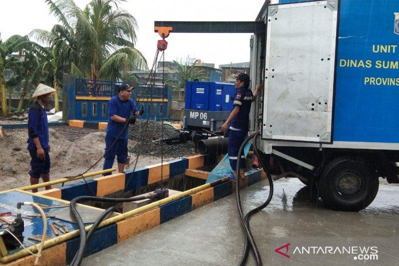 Jakarta Utara siapkan 10 pompa menjelang musim hujan