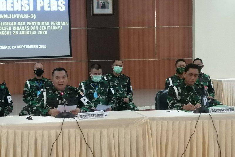 Danpuspomad: berkas Prada MI akan dilimpahkan ke Oditur Militer