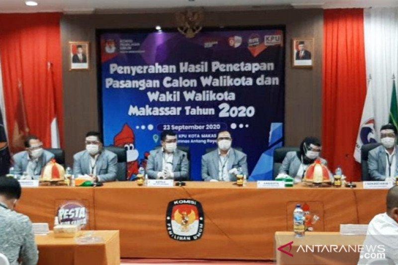 KPU tetapkan empat pasangan calon Pilkada Makassar