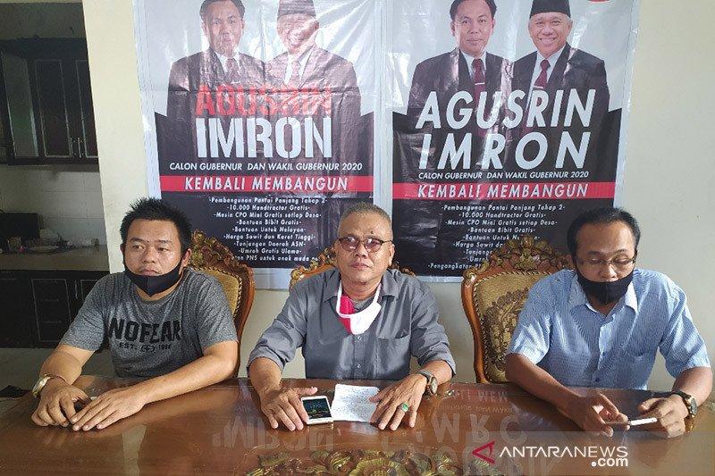 Gagal calon gubernur, Agusrin bakal gugat keputusan KPU Bengkulu