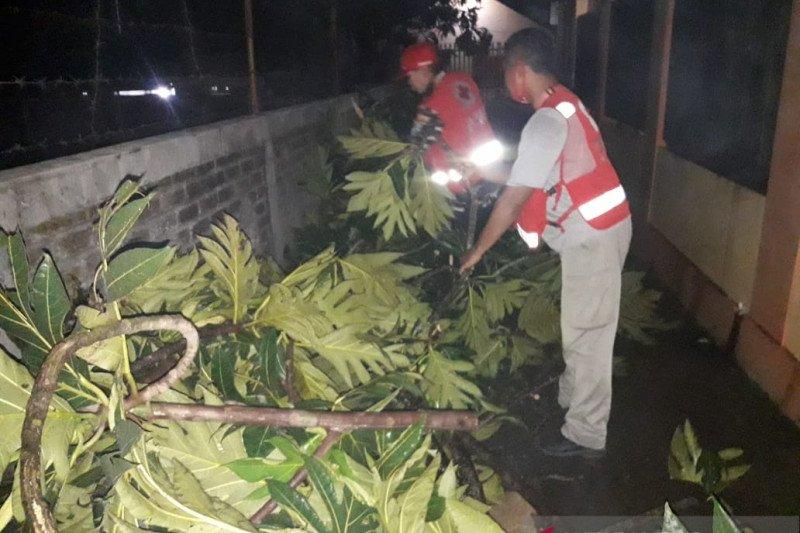 Puluhan rumah di Kota Sukabumi rusak diterjang angin kencang
