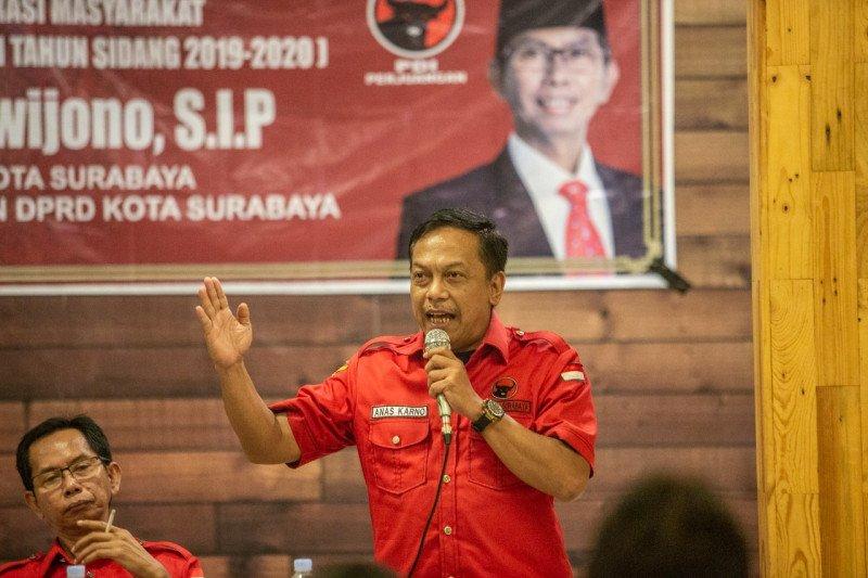 Pilkada Surabaya, KPU diminta transparan paslon negatif COVID-19