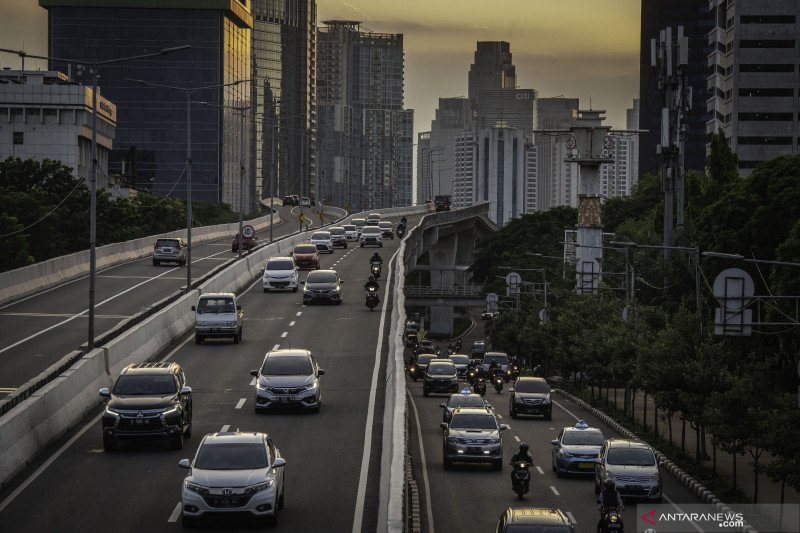 Sepekan PSBB Jakarta turunkan volume kendaraan hilir mudik di ibu kota