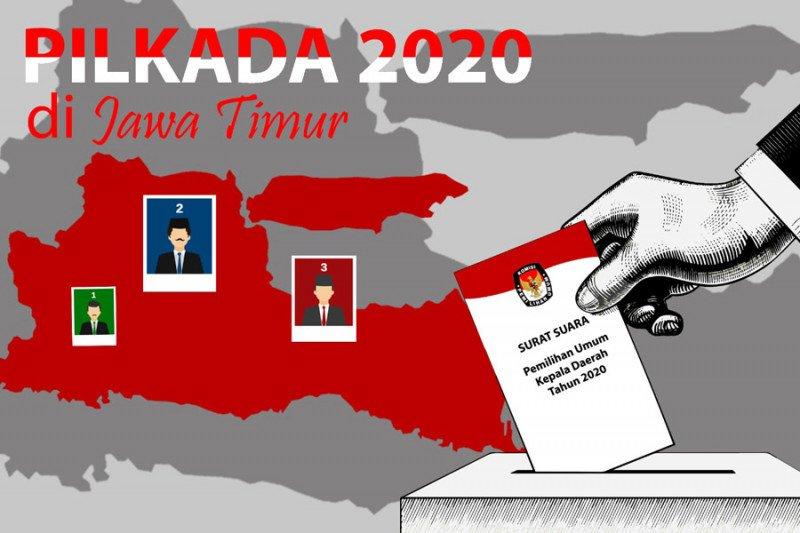 KPU tetapkan dua pasangan calon peserta Pilkada Trenggalek