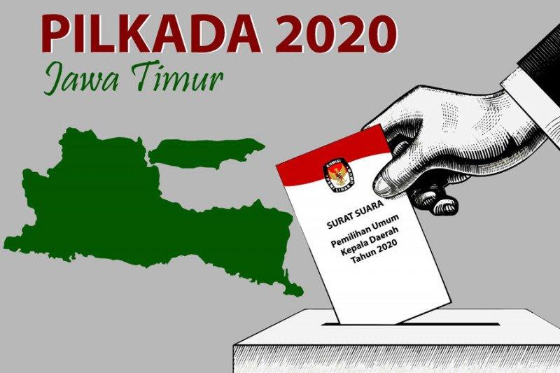 KPU Sidoarjo tetapkan dua dari tiga pasangan calon Pilkada 2020