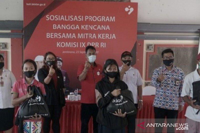 Anggota DPR dan BKKBN Bali sosialisasikan program