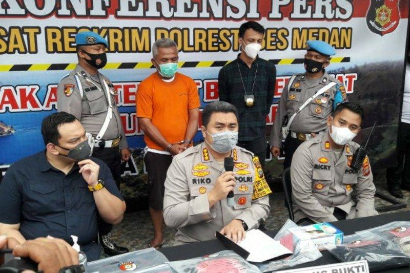 Polrestabes Medan ringkus suami yang bunuh istri