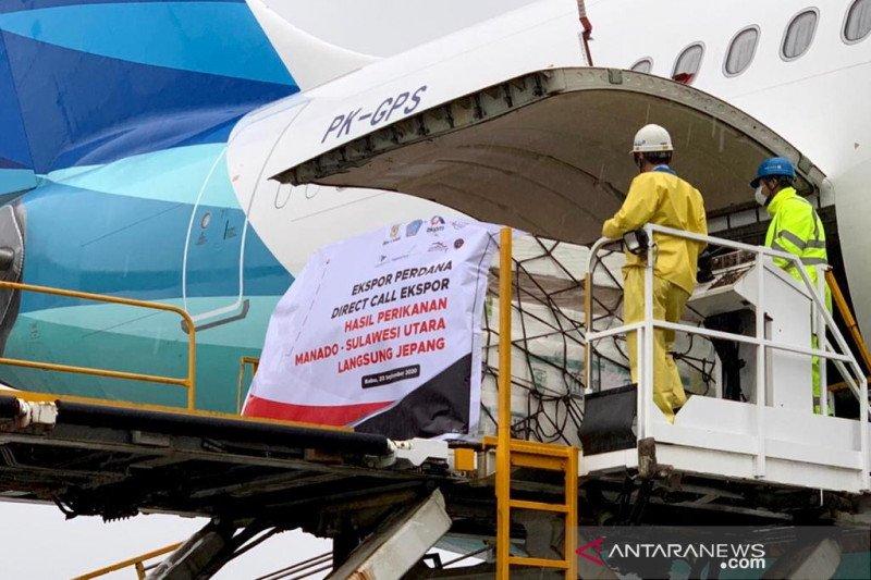Layanan kargo Manado-Tokyo dibuka demi tingkatkan ekspor