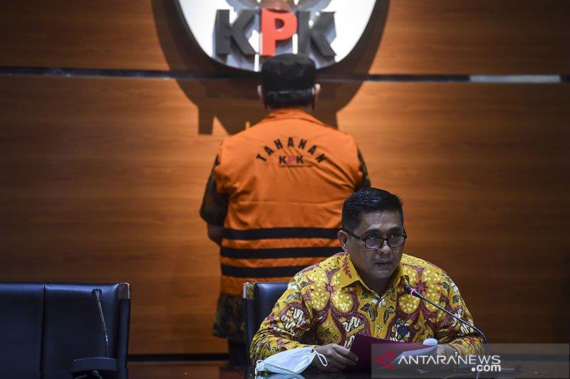 KPK tahan mantan Kadis PUPR Lampung Selatan