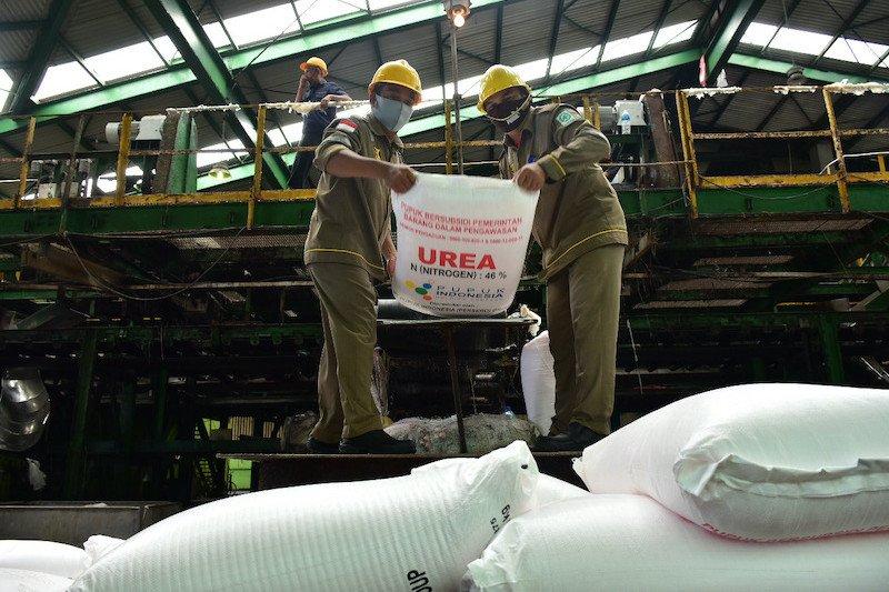 Pusri siapkan 201.557 ton pupuk urea subsidi jelang musim tanam