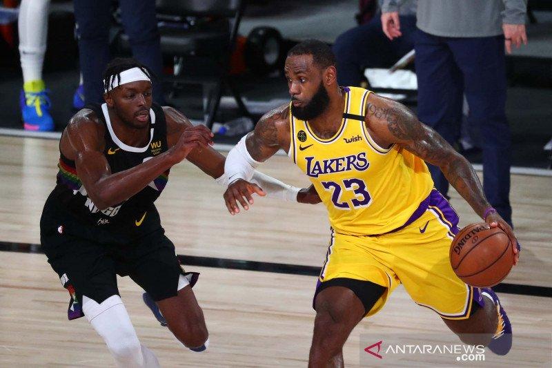 NBA Playfoff 2020: Los Angeles Lakers kalahkan Denver Nuggets