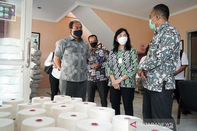 Pacu produktivitas, Kemenperin bantu mesin UPT Tekstil Majalaya