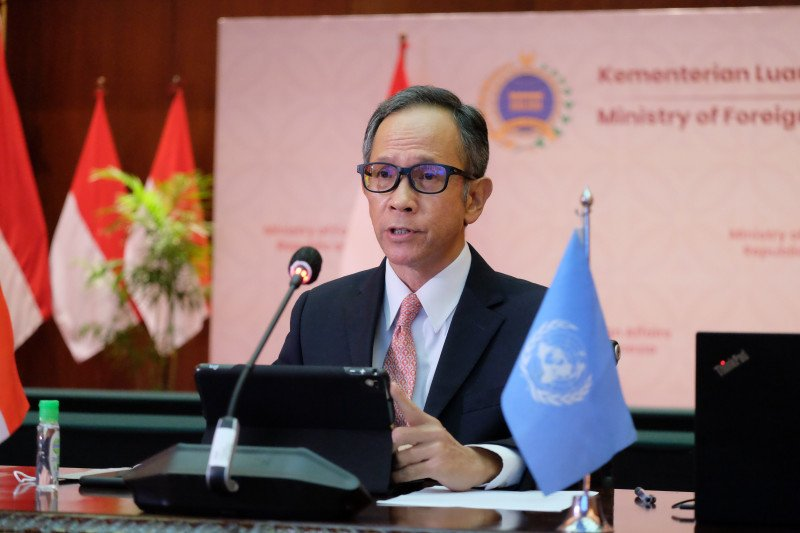 RI peringatkan PBB soal tantangan sosial-ekonomi pascapandemi