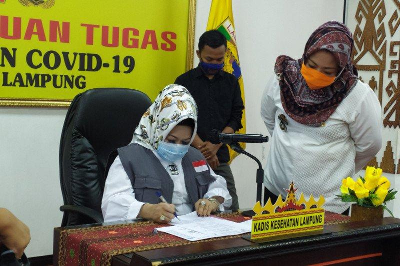Pasien sembuh dari COVID-19 di Lampung bertambah 36 orang