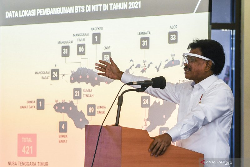 Kominfo genjot akses internet di kawasan ekonomi khusus NTT