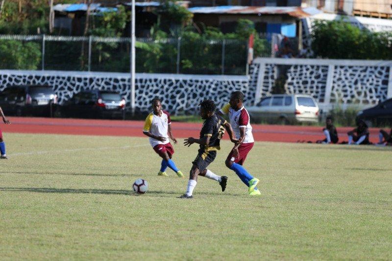 Persewar Waropen menyerah dari Tim PON Papua 1-2