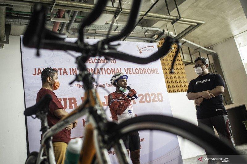 Jakpro dukung perjalanan mantan atlet sepeda Tarwi
