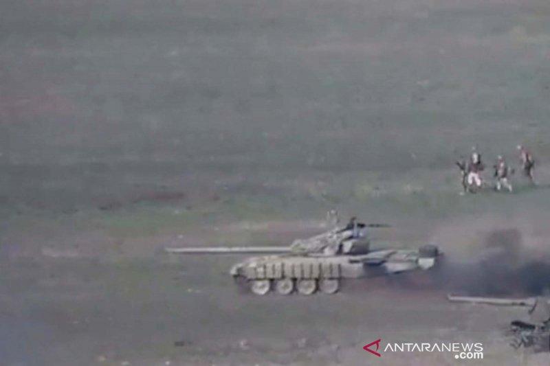 Armenia sebut Turki kirim 4.000 prajurit, Azerbaijan membantah