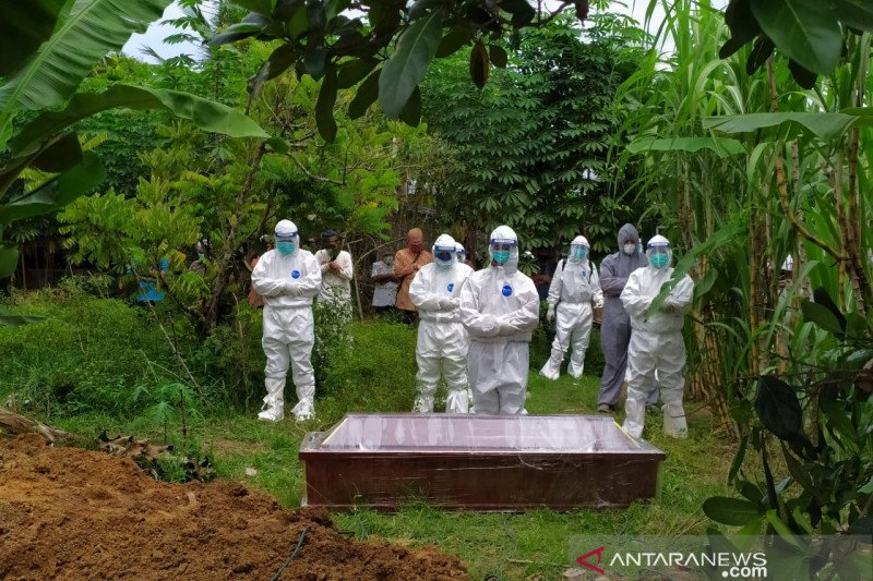 Warga Aceh meninggal positif COVID-19 capai 155 orang