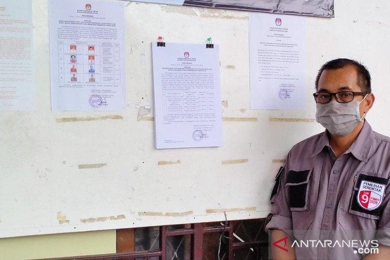 KPU Bengkayang terima laporan dana kampanye seluruh paslon