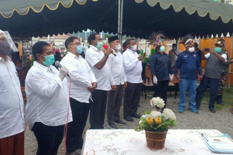 Paslon Nabire diminta terapkan protokol kesehatan saat kampanye