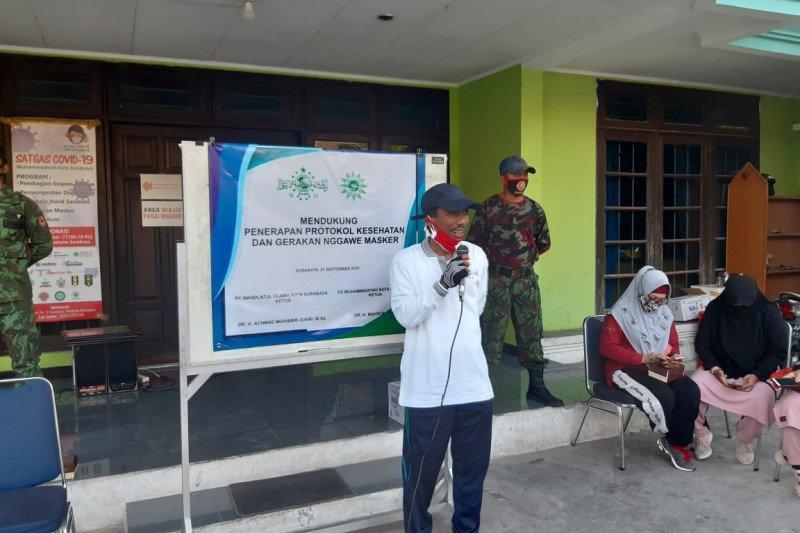 Nahdlatul Ulama dan Muhammadiyah kampanyekan pemakaian masker
