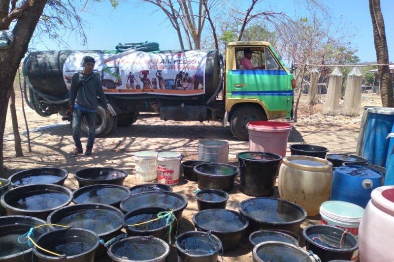 ACT salurkan bantuan air bersih untuk warga Lombok Timur