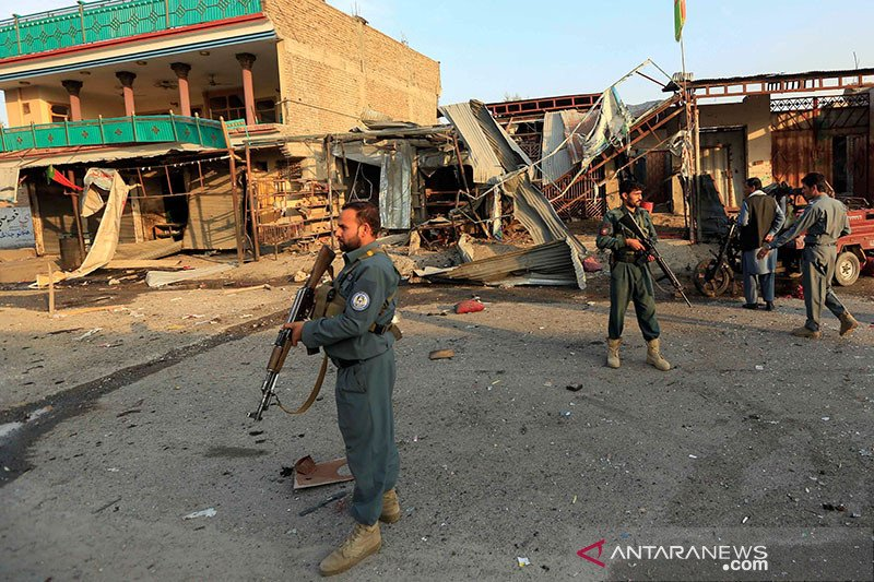 Kepolisian Afghanistan sita 4 ton zat kimia untuk membuat bom