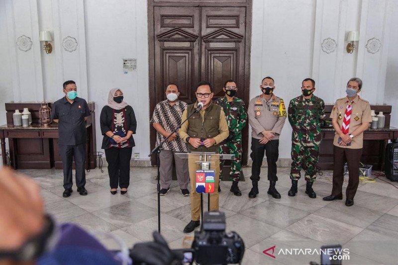 Kota Bogor kembali ke zona merah karena tiga faktor