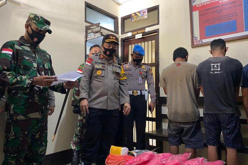 Tim gabungan gagalkan penyelundupan 12 kilogram sabu di perbatasan