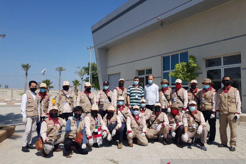 Kepulangan mujahid RS Indonesia dari Gaza di tengah pandemi