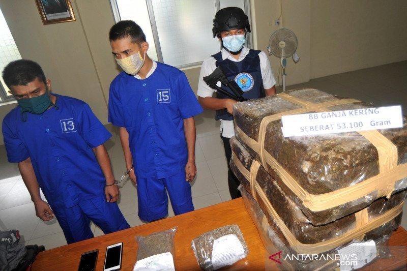 Pengungkapan peredaran narkotika di Lapas Pariaman