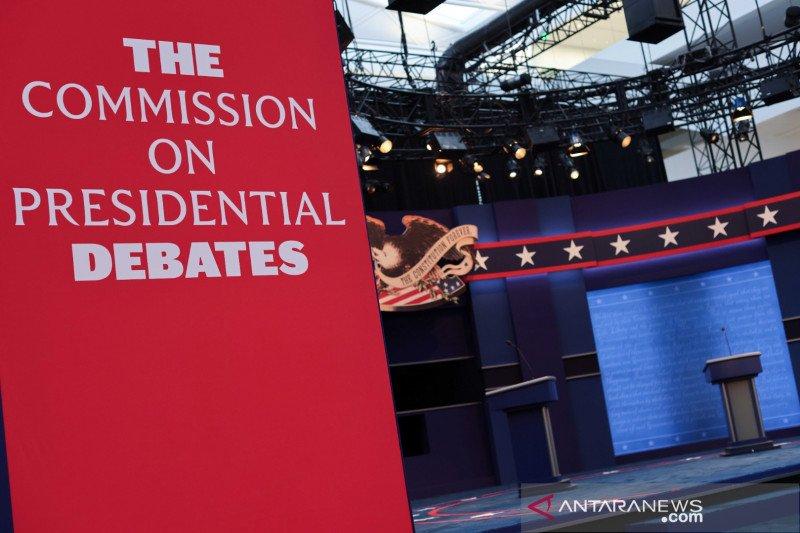Trump, Biden saling serang dalam debat pilpres pertama