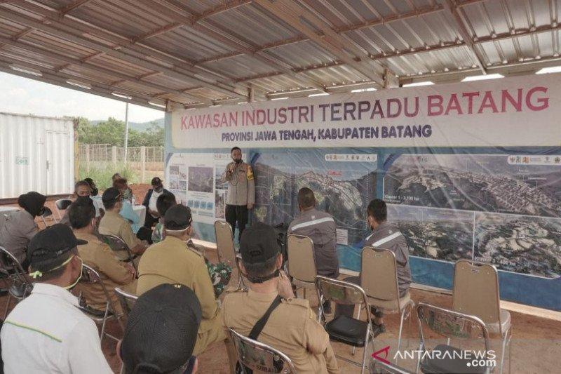 Polres Batang siap kawal pembangunan kawasan industri terpadu