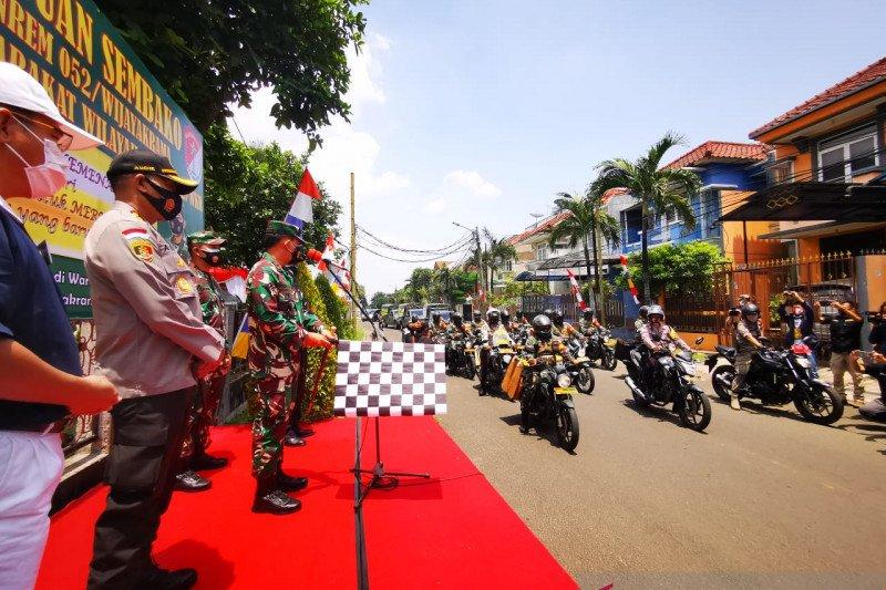 Danrem 052 Wijaya Krama bagikan 5.000 paket sembako ke masyarakat