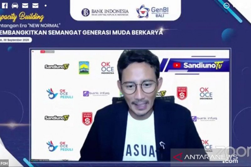 GenBI Bali dimotivasi Sandiaga Uno jadi agen perubahan