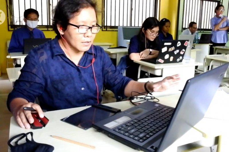Dinas Pendidikan Kota Tangerang pantau penyelenggaraan PJJ