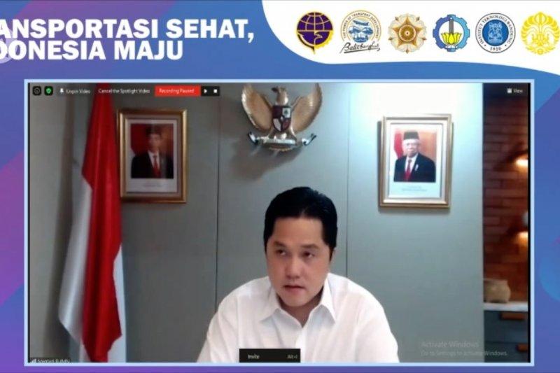 Erick sebut ekonomi Indonesia lebih baik dari negara G20 dan ASEAN