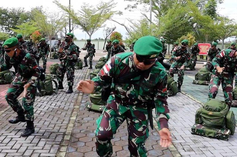 450 prajurit TNI-AD siap amankan 2.411 patok perbatasan