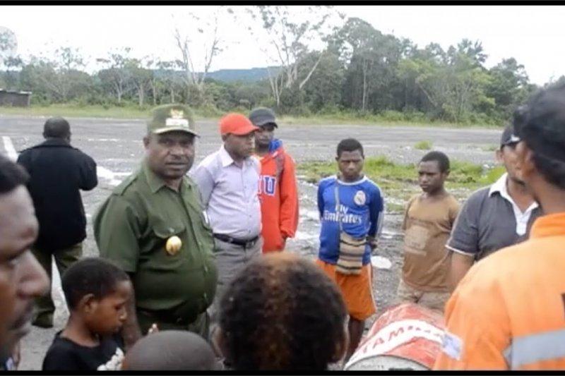 Sekelompok orang serang Polsek Elelim Yalimo Papua