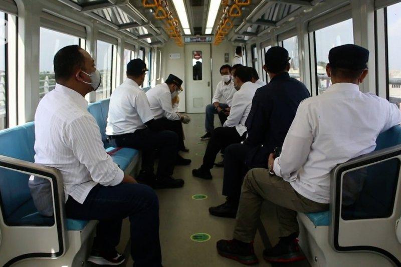 Menhub coba integrasi moda transportasi di Palembang