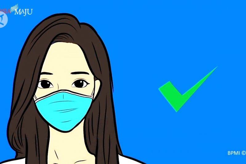 Reisa Broto ingatkan pakai masker jangan asal-asalan