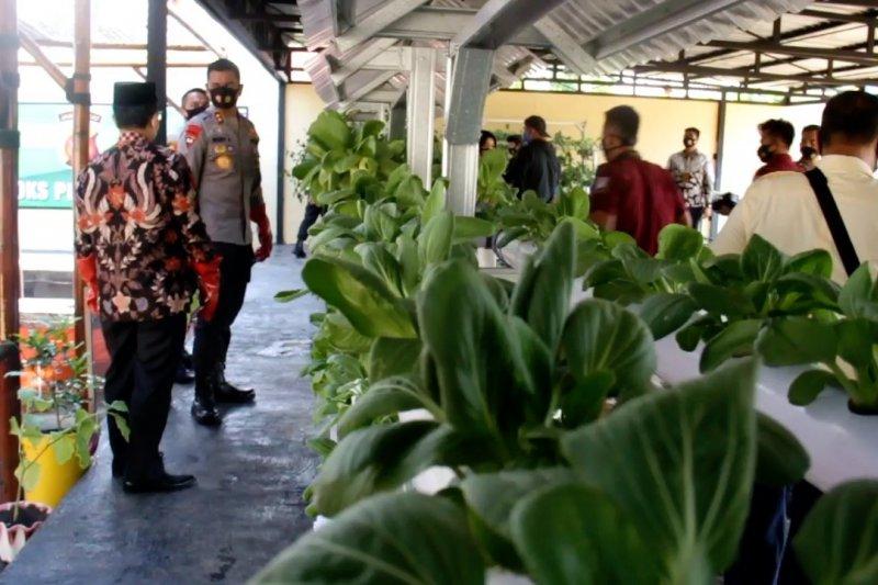 Polresta Cirebon ubah lapangan tembak jadi lahan produktif