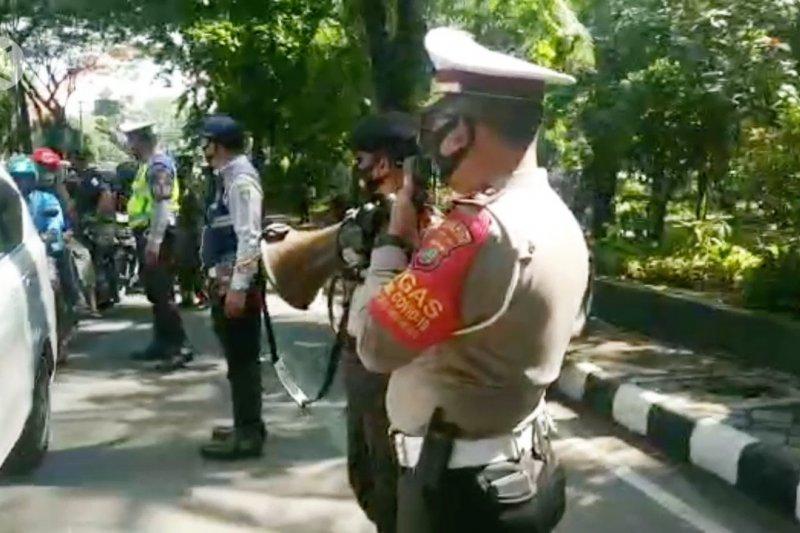 Polrestro Tangerang Kota tindak 2.000 pelanggar protokol kesehatan