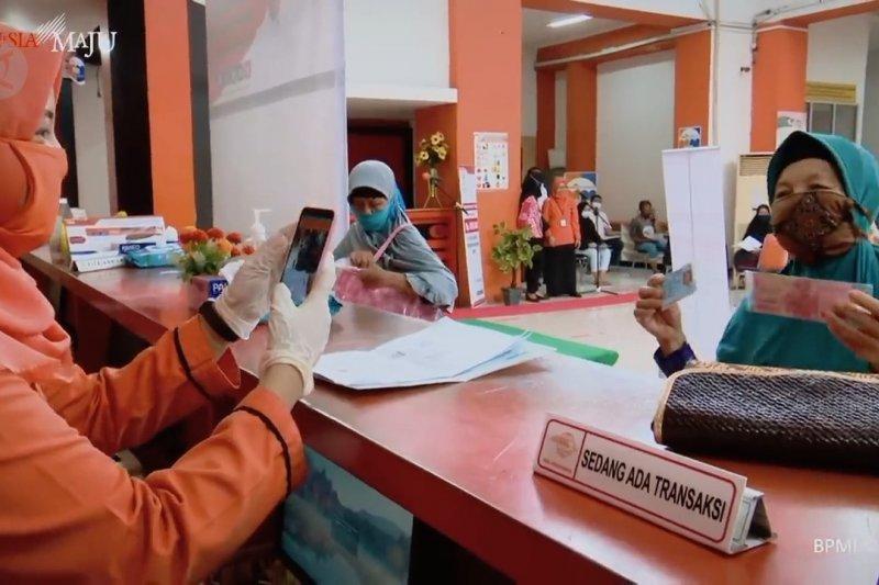 Pemerintah telah gelontorkan Rp203,9 triliun untuk perlindungan sosial