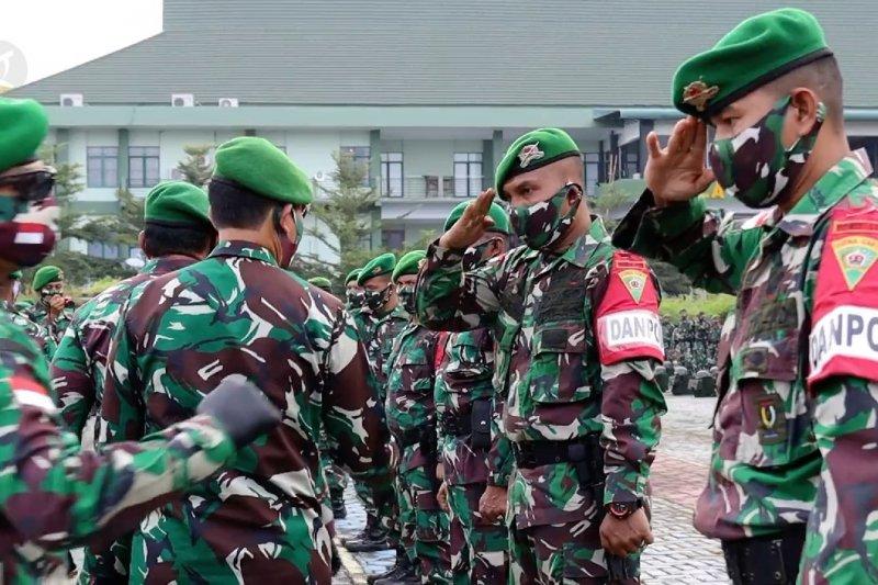 Purna tugas Yonif 133/Yudha Sakti di perbatasan RI - Malaysia
