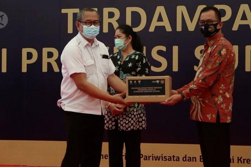 Kemenparekraf salurkan 10.298 paket bantuan untuk pelaku pariwisata terpapar COVID-19