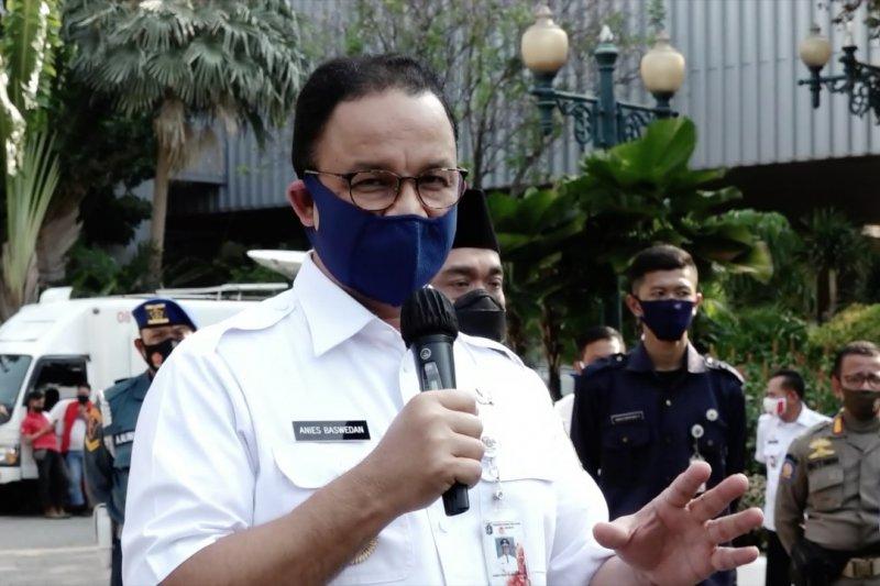 Anies tutup Blok G Balai Kota DKI Jakarta selama 3 hari